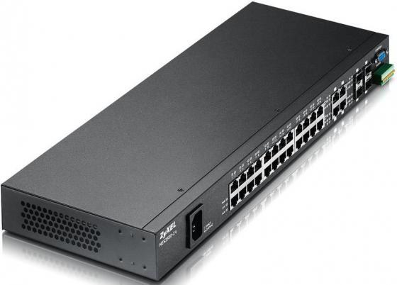 Коммутатор Zyxel MES3500-24 управляемый 24 порта 10/100Mbps 4xCombo GbLAN/SFP