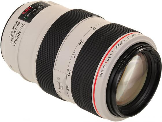 Объектив Canon EF 70-300mm F/4-5.6L IS USM 4426B005 объектив canon ef s is stm 1620c005 18 55мм f 4 5 6 черный