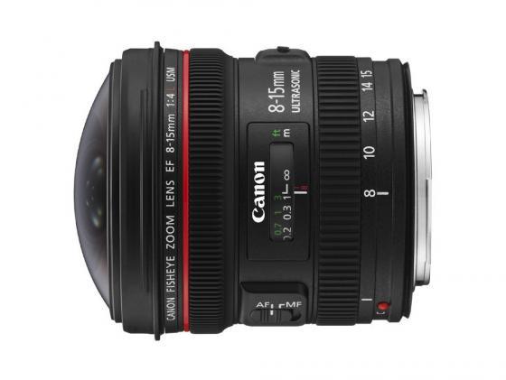 Объектив Canon EF 8-15mm F/4L Fisheye USM 4427B005