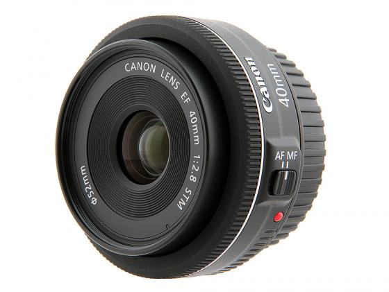 Объектив Canon EF 40mm f/2.8 STM 6310B005/АА EF4028STM объектив canon ef 24mm f 2 8 is usm черный
