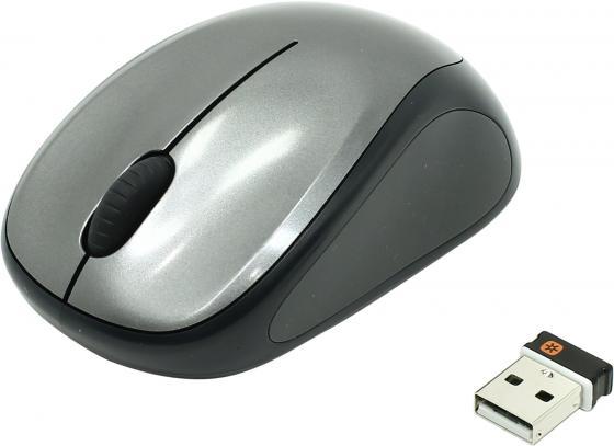 Мышь Logitech Wireless Mouse M235 910-003146 Colt Glossy Black-Grey USB