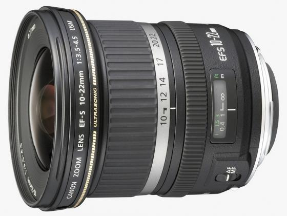 Объектив Canon EF-S 10-22mm f/3.5-4.5 USM 9518A007 объектив canon ef 24mm f 2 8 is usm черный