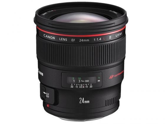 Объектив Canon EF 24mm 1.4L II USM 2750B005 объектив canon ef 24mm f 1 4l ii usm