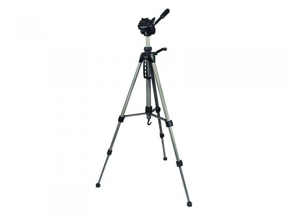 Штатив Rekam RT-M42G напольный трипод 3D-головка до 151 см нагрузка до 3 кг серебристый велотуфли gaerne g wallaby 42 серебристый