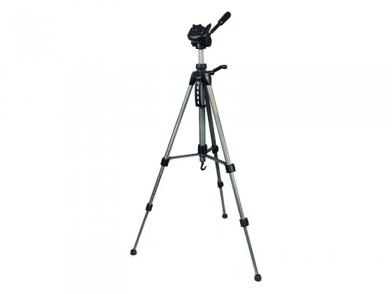 цена Штатив Rekam RT-M42G напольный трипод 3D-головка до 151 см нагрузка до 3 кг бронза