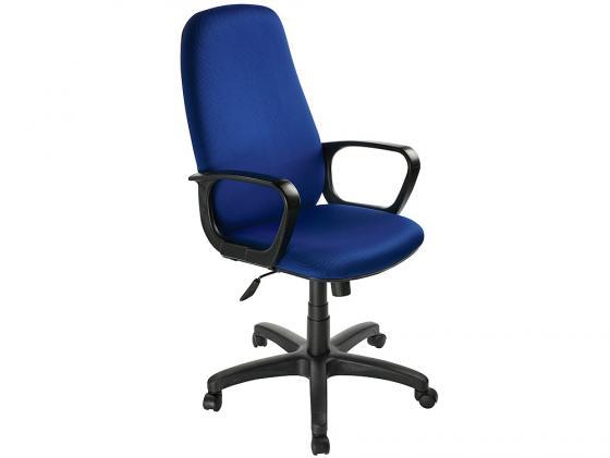 Кресло Buro CH-808AXSN/Bl&Blue черно-синий 12-191 мэрдэс рабочее кресло менеджер черно синий