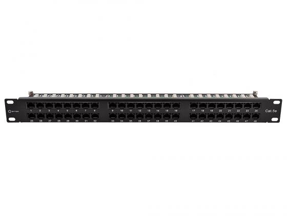"Патч-панель 5bites LY-PP5-75 UTP 5e кат 48 портов Krone&110 dual IDC 19"""