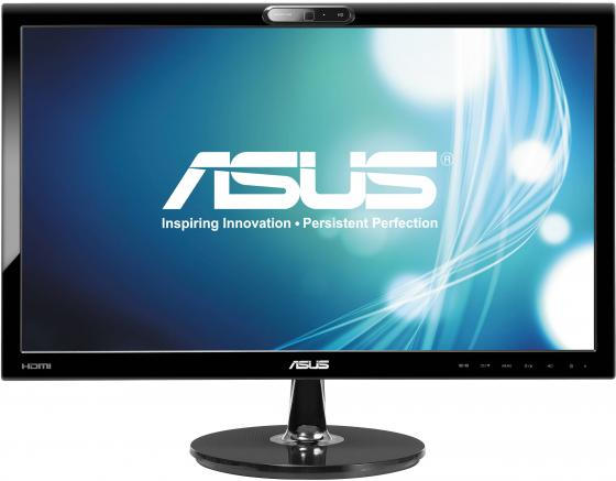Монитор 21.5 ASUS VK228H черный TN 1920x1080 250 cd/m^2 5 ms DVI HDMI VGA Аудио 90LMF9101Q03241C материнская плата asus h81m r c si h81 socket 1150 2xddr3 2xsata3 1xpci e16x 2xusb3 0 d sub dvi vga glan matx