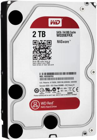 Жесткий диск 3.5 2 Tb 5400rpm 64Mb cache Western Digital Red SATAIII WD20EFRX