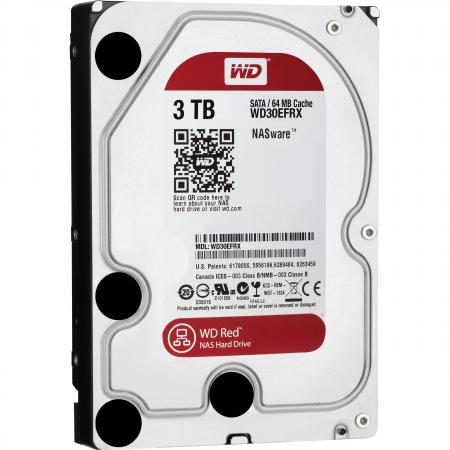 Жесткий диск 3.5 3 Tb 5400rpm 64Mb cache Western Digital Red SATAIII WD30EFRX