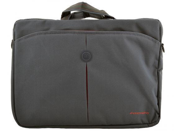 Сумка для ноутбука 15 Continent CC-01 нейлон серый б у сумку для ноутбука
