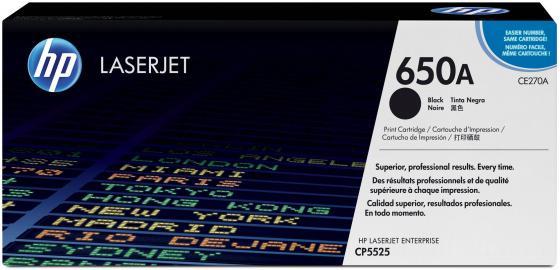 Картридж HP CE270A черный для LaserJet CP5520 13500стр стоимость