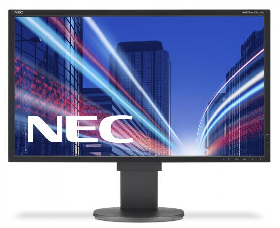 Монитор 22 NEC MultiSync EA223WM черный TN 1680x1050 250 cd/m^2 5 ms DVI DisplayPort VGA USB Аудио монитор 21 5 hp vh22 черный tn 1920x1080 250 cd m^2 5 ms dvi vga displayport x0n05aa