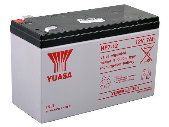 Батарея Yuasa NP7-12 12В/7А цена 2017