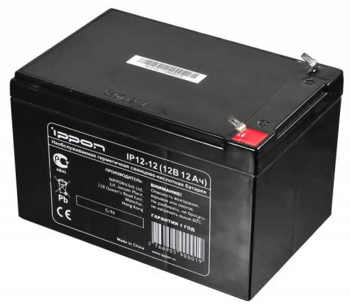Батарея Ippon IP12-12 12V/12AH батарея 3cott 12v 12ah rt12120 12v12ah 2ohr