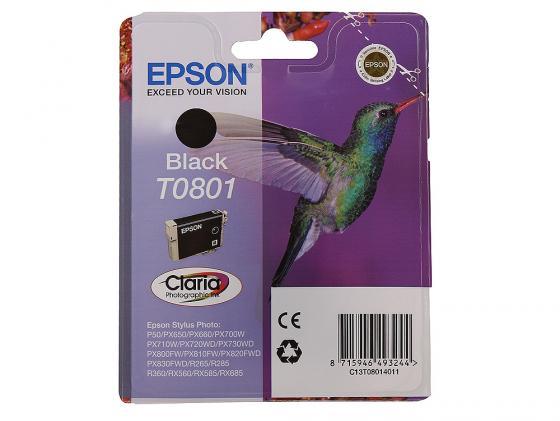 Фото - Картридж Epson T080 (C13T08014011) для для P50 PX660 330стр Черный epson картридж epson original t079a4a10 комплект для p50 px660