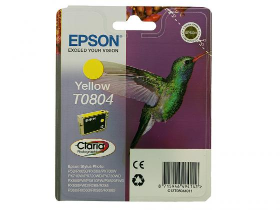 Картридж Epson C13T08044011/C13T08044021 для Stylus Photo P50 PX660 PX720WD желтый 330стр 40pin8 inch lcd screen digital screen ls080ht111 universal 40pin industrial control display