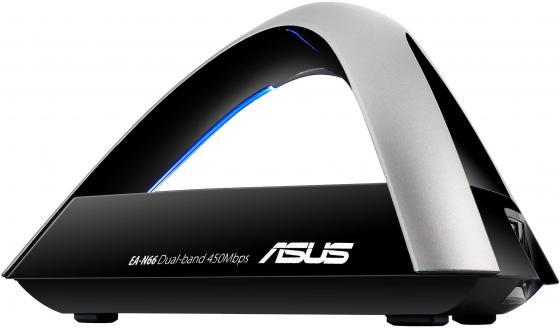 Точка доступа ASUS EA-N66 802.11n 450Mbps 2.4 и 5ГГц GbLAN беспроводная точка доступа asus ea ac87 802 11ac 1734mbps 5ггц