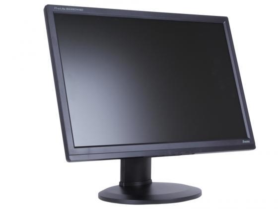 Монитор 22 Iiyama Pro Lite B2280WSD-B1 черный TN LED 1680x1050 5000000:1 250cd/m^2 5ms VGA DVI монитор 22 lg 22bk55wy b tn led 1680x1050 5ms vga dvi displayport