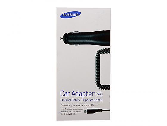 Автомобильное зарядное устройство Samsung ECA-U16CBEGSTD 1A microUSB черный автомобильное зар устр samsung eca u16cbegstd 1a универсальное черный