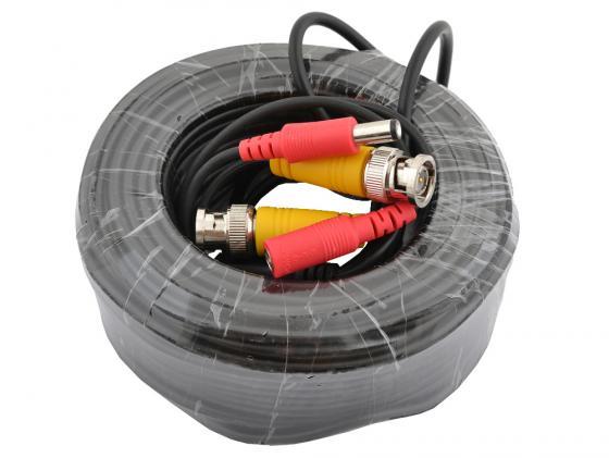 Кабель для камер видеонаблюдения BNC+питание 20м OEM кабель orient для камер видеонаблюдения cvap 20 видео bnc аудио rca питание 20 м oem
