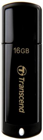 Флешка USB 16Gb Transcend Jetflash 350 TS16GJF350 черный transcend jetflash 500 16gb
