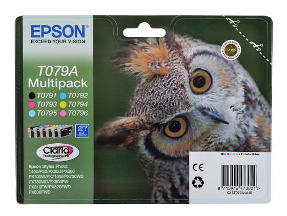 Набор Картриджей Epson C13T079A4A10 Multipack для P50 PX660 PX720WD PX820FWD