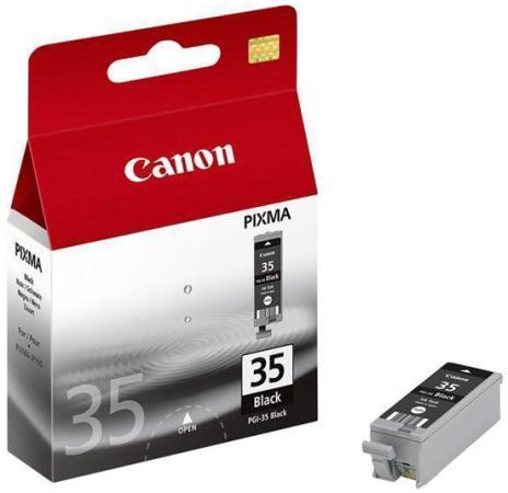 купить Картридж Canon PGI-35 для PIXMA iP100 черный 190стр недорого