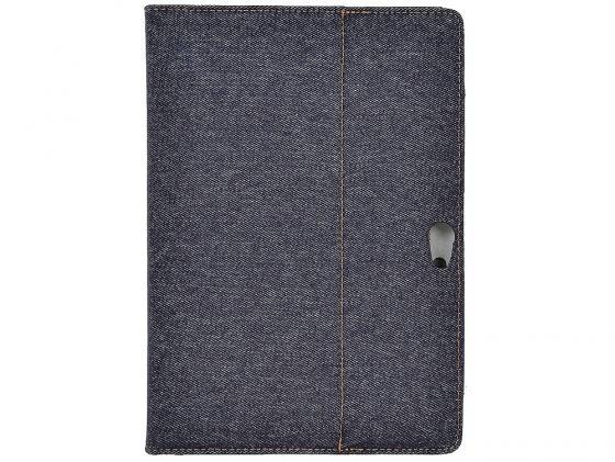 Чехол IT BAGGAGE для планшета ASUS TF700 искусcтвенная кожа Jeans черный/синий ITASTF708-4