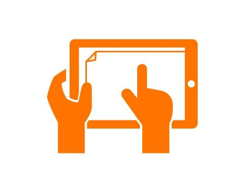 Наклейка пленки или стекла на планшет