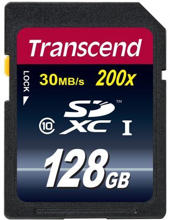Карта памяти SDXC 128GB Class 10 Transcend TS128GSDXC10 карта памяти sdxc 128gb class 10 transcend ts128gsdxc10
