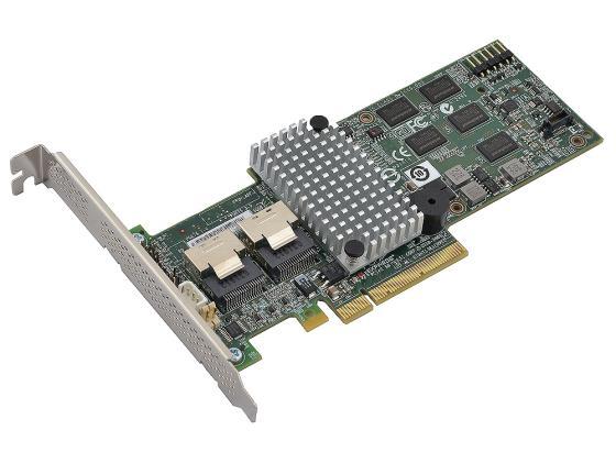 Контроллер SAS/SATA LSI MegaRAID SAS 9260-8i LSI00198 PCI-Ex8 8-port SAS / SATA RAID 0 / 1 / 5 / 6 / 10 / 50 / 60 Cache 512Mb orico cpd 7p6g ba60 v1 serial sata 3 0 data cable sas cablewith locking latch 6 gbps 60cm