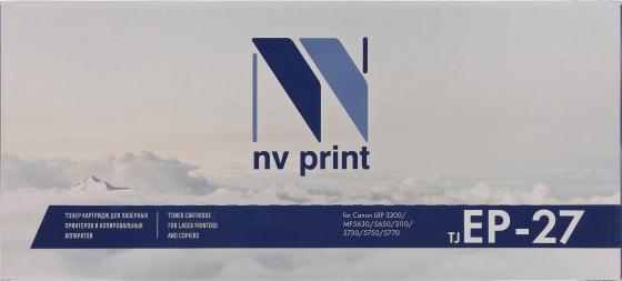 Фото - Картридж NV-Print EP-27 EP-27 EP-27 EP-27 для для Canon MF5630 5650 5730 5750 2500стр Черный картридж sakura ep27 для canon lbp 3200 mf5630 5650 3110 5730 5750 5770 черный 2500 к