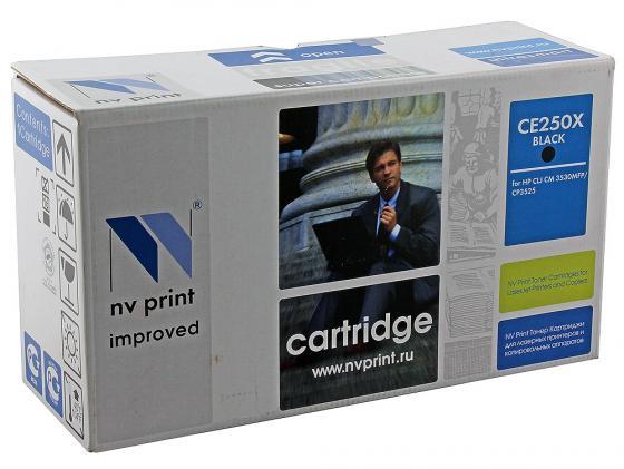 Фото - Картридж NV-Print CE250X черный для HP Color LJ CM3530 CP3525dn картридж nv print ce250x черный для hp color lj cm3530 cp3525dn