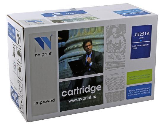 Фото - Картридж NV-Print CE251A голубой для HP Color LJ CM3530 CP3525dn картридж nv print ce741a голубой для hp color lj cp5220
