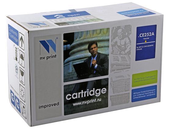 Фото - Картридж NV-Print CE252A желтый для HP Color LJ CM3530 CP3525dn картридж nv print ce741a голубой для hp color lj cp5220