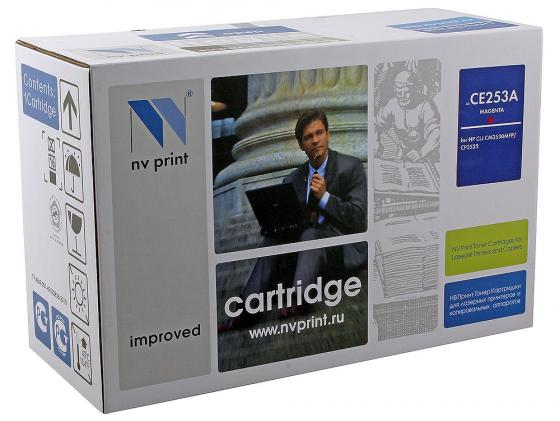 Фото - Картридж NV-Print CE253A пурпурный для HP Color LJ CM3530 CP3525dn картридж nv print ce741a голубой для hp color lj cp5220