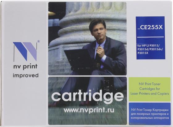 Картридж NV-Print CE255X для HP LJ P3015 paper crane print drop waist mini dress