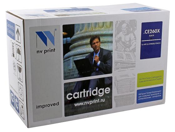 Картридж NV-Print CE260X черный для HP Color LJ CP4520 4525 картридж nv print q7516a для hp lj 5200 5200dtn 5200l 5200tn 5200n 5200lx