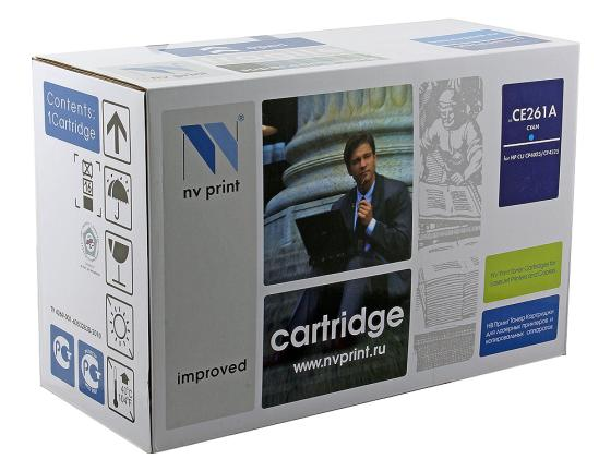 Фото - Картридж NV-Print CE261A голубой для HP Color CP4520 CP4525 картридж nv print ce263a пурпурный для hp cp4520 cp4525