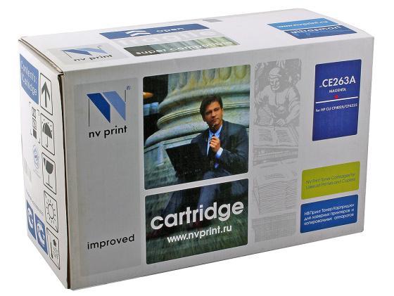 Картридж NV-Print CE263A пурпурный для HP CP4520 CP4525 d19 sbd6943 nv
