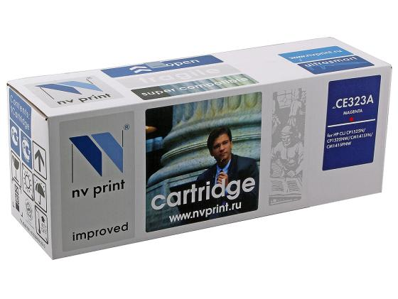 Фото - Картридж NV-Print CE323A Magenta для HP Color LaserJet Pro CP1525 картридж nv print hp q6473a canon 711 пурпурный magenta 4000 стр для hp laserjet color 3505 3600 3800 canon lbp 5300 5360 mf 9130 9170 9220cdn 9280cdn