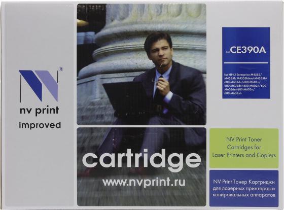Картридж NV-Print CE390A для HP LaserJet M4555MFP картридж nv print ce255a для hp lj p3015