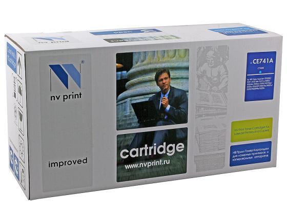 Фото - Картридж NV-Print CE741A голубой для HP Color LJ CP5220 картридж nv print ce741a голубой для hp color lj cp5220