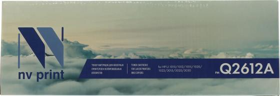 Картридж NV-Print Q2612A для HP LJ 1010/1020 nv print nv hp lj 1010 black тонер для принтера hp