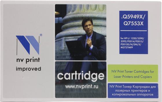Картридж NV-Print Q5949X для HP LJ 1320 q5949x совместимый q5949 5949 5949x 949x 49x тонер картридж для laserjet 1320 3390 3392