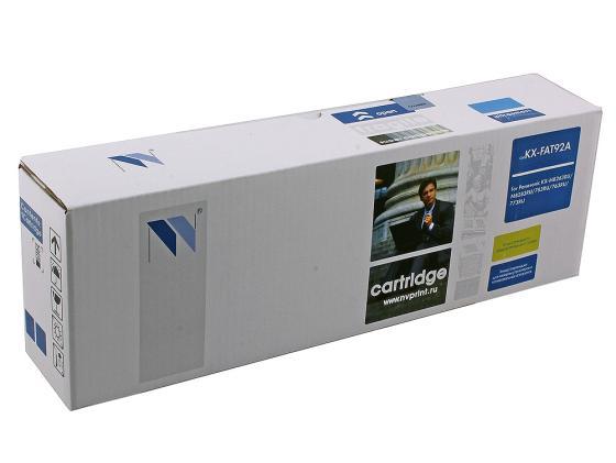 Фото - Картридж NV-Print KX-FAT92A для Panasonic KX-MB263/763/773 картридж panasonic драм юнит kx fad93a kx mb263 763 773ru superfine