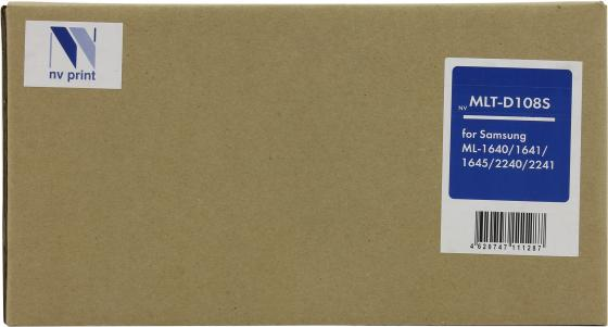 Фото - Картридж NV-Print MLT-D108S MLT-D108S MLT-D108S MLT-D108S для Samsung ML-1640, ML-1641, ML-1645, ML-2240, ML-2241 1497стр Черный картридж для samsung ml 3050 3051nd ml d3050b 8k uniton premium