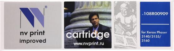 Картридж NV-Print 108R00909 для Xerox Phaser 3140/3155/3160 paper crane print drop waist mini dress