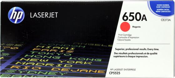 Картридж HP CE273A пурпурный для LaserJet CP5520 13500стр картридж ce273a